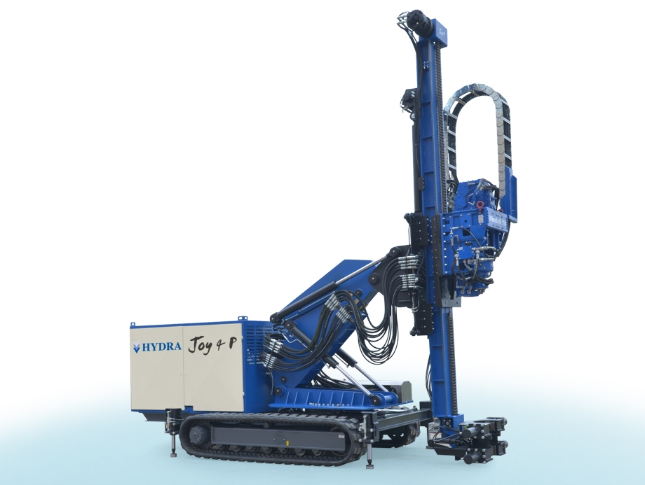 Drilling machine, JOY 4 P suitable for drilling vertical or sloping